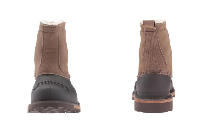 Woolrich boot from the front and back