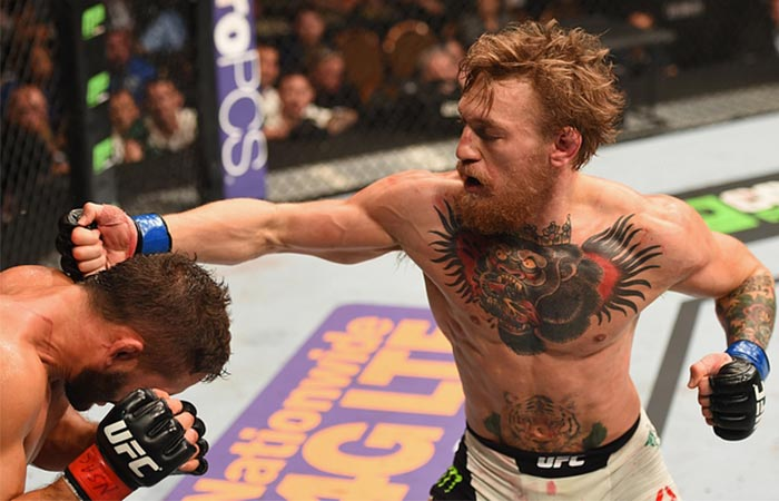 Conor McGregor fighting Chad Mendez
