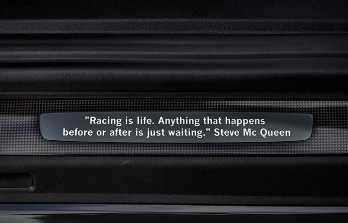 Steve McQueen quote on the personalized windsills