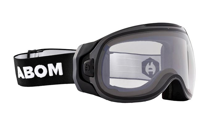 Abom Anti-Fog Ski Goggles in transparent