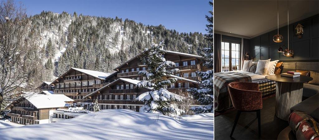 HUUS Hotel Gstaad | The Perfect Winter Alpine Escape