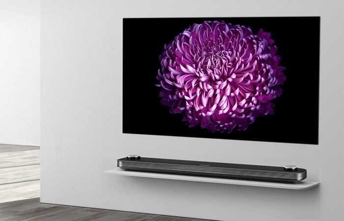 Lg W7 Oled Super Thin Wallpaper Tv