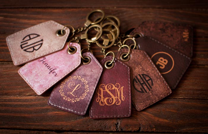 Lemberg Leather keycahin/luggage tags
