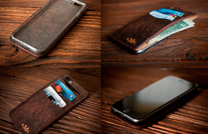 Lemberg Leather iPhone case