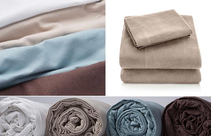 Malouf Heavyweight Flannel Sheets