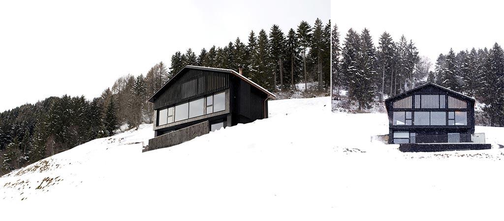 Morissen House In The Swiss Alps