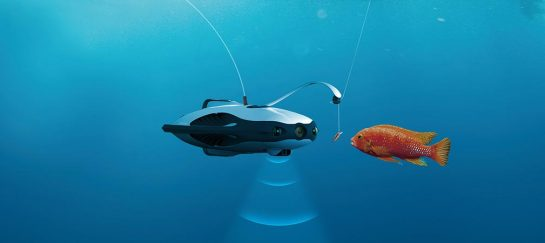 PowerRay Underwater Fishing Drone