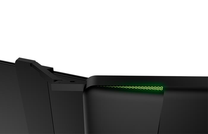 Razer Project Valerie screen aluminum clips