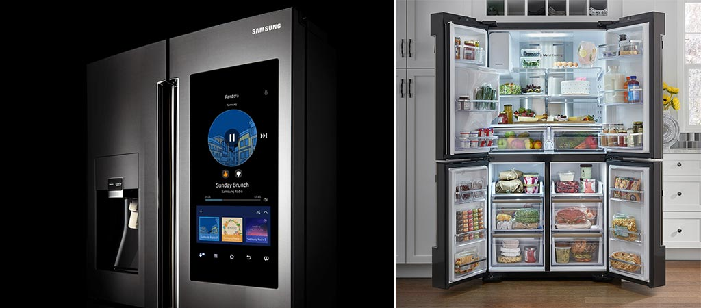 samsung family hub 2 0 refrigerator. Black Bedroom Furniture Sets. Home Design Ideas