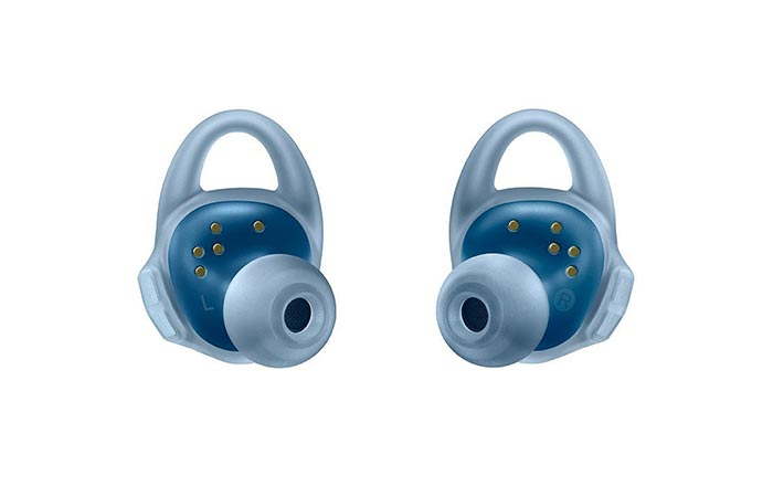 Blue Samsung Gear IconX Fitness Earbuds