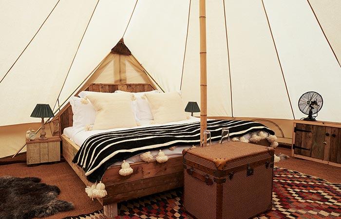 tent room Soho Farmhouse