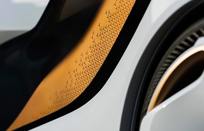 Close up of wheel hub
