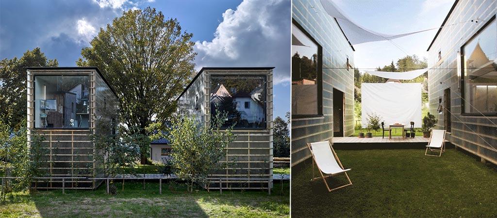 Zen Houses By Petr Stolín Architekt