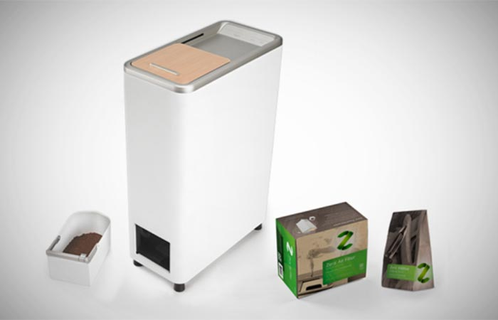 Zera Food Recycler with all of its components