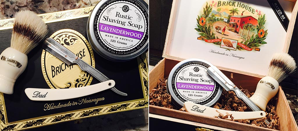 Adam Straight Razor Kit From KC Shave Co