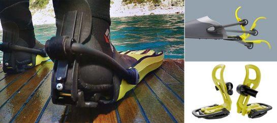 Finclip | Click-on Flipper Bindings