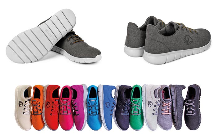 13 colors of Merino Runners