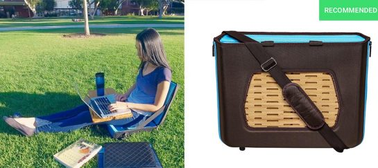 Satchelbord | Mobile Lapdesk, Bag and Chair All-In-One