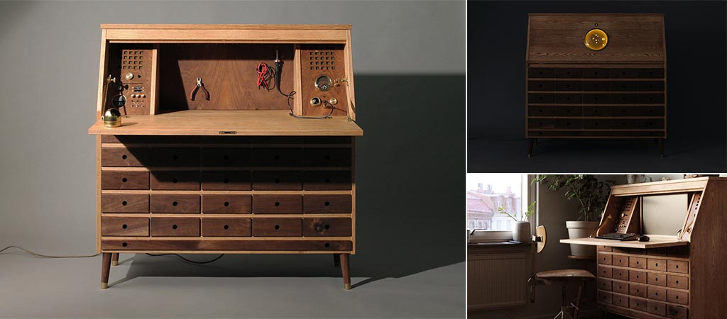 Three different views of the Tempel Workbench