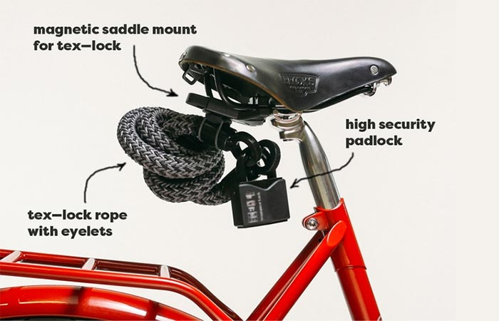Tex-Lock features on a bicycle