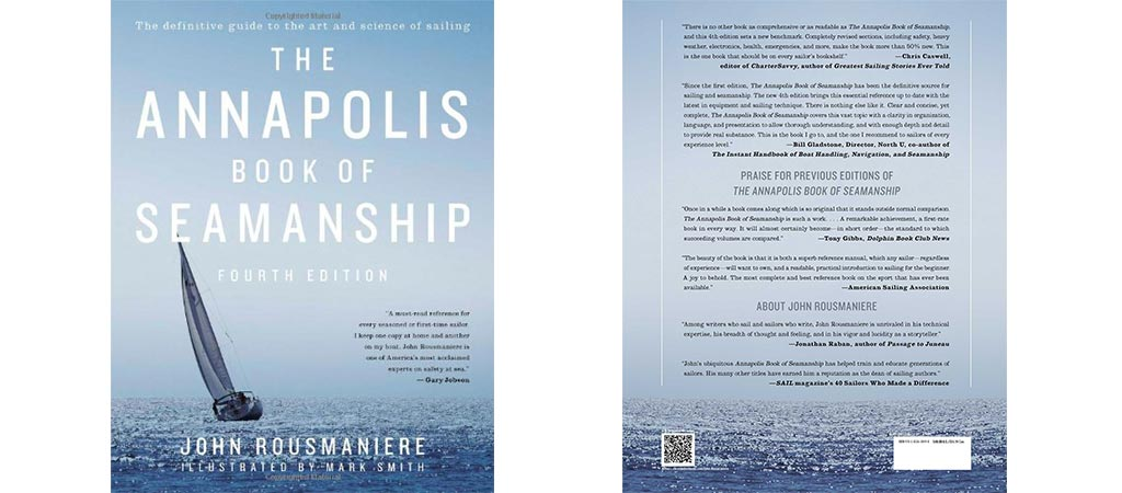 The Annapolis Book of Seamanship front and back cover