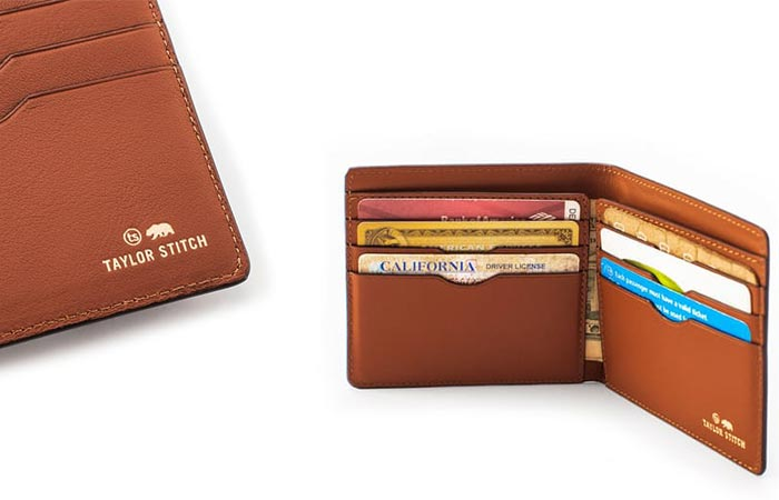 two images of The Minimalist Billfold