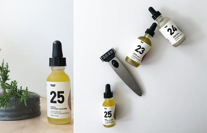 Way Of WIL beard and shave oils