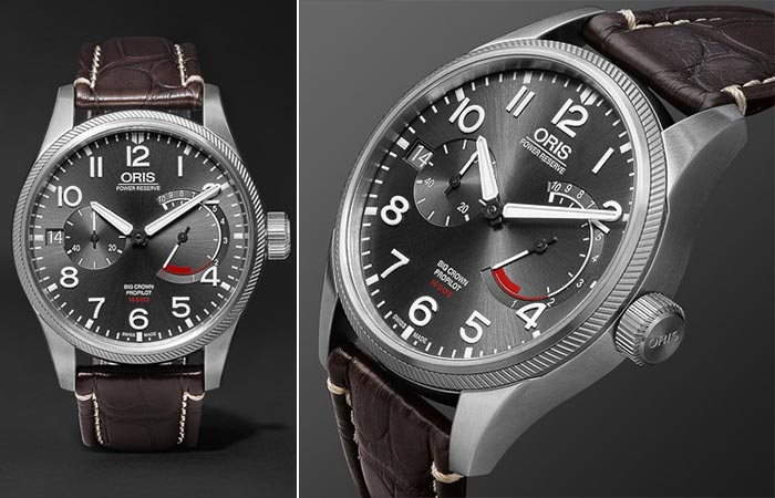 Two different views of the Oris ProPilot