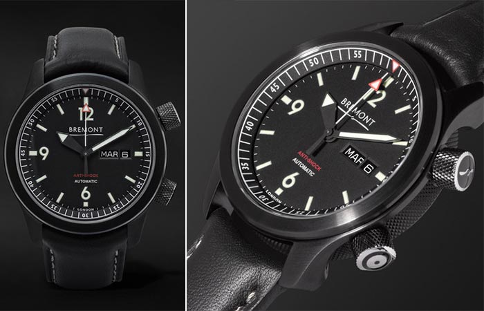Two different views of the Bremont U-2