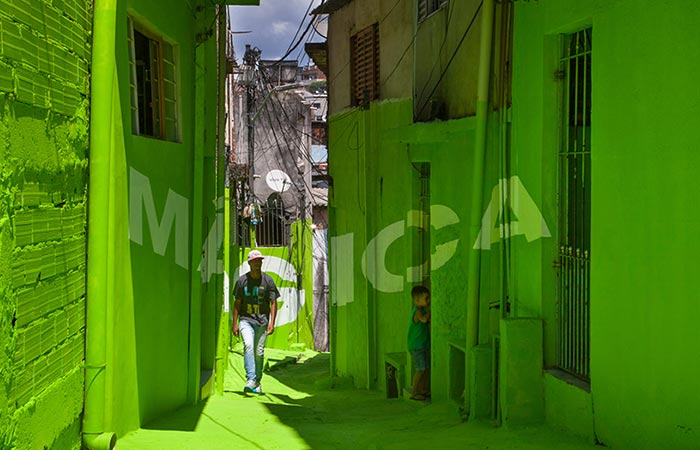 favela after painting