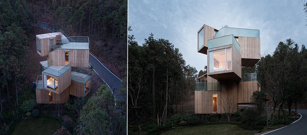 China's Tree House Hotel By Bengo Studio