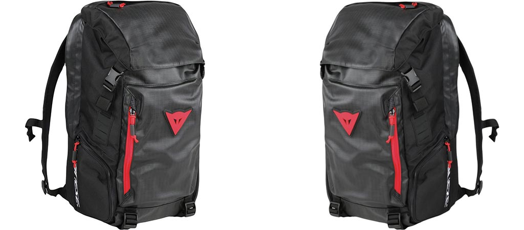 Two different views of the Dainese D-Throttle Backpack