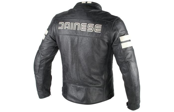 Back view of the Dainese HF D1 Leather Jacket