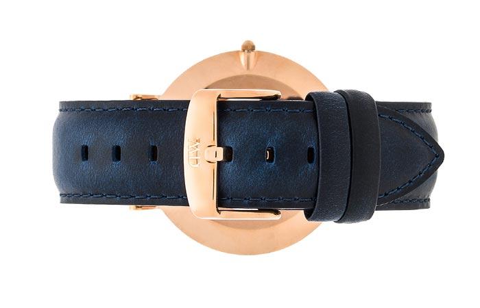 Rear view of the Daniel Wellington Classic Somerset Watch
