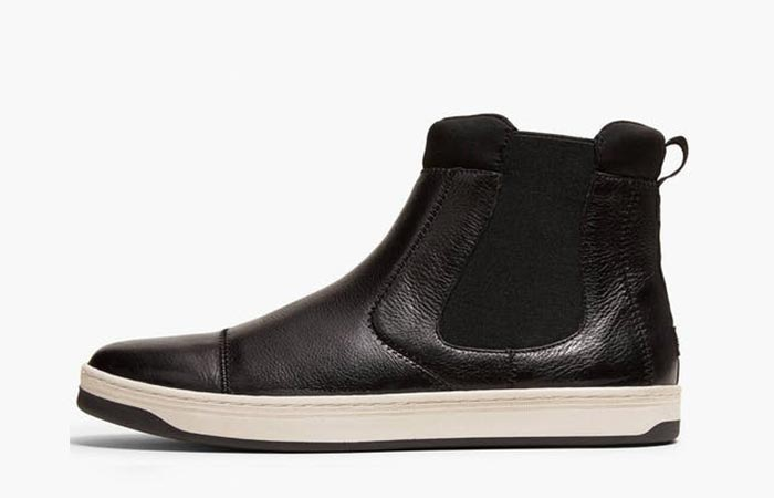 Side view of the EFM X Dockers Chelsea Boot