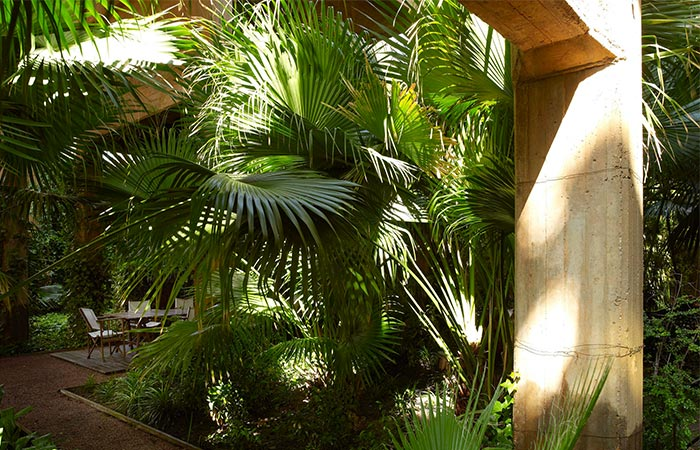La Fabrica garden