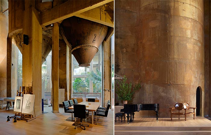 inside La Fabrica studio