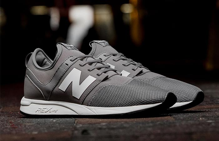 new balance 247 trainers in grey