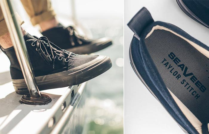 two images of SeaVees Mariner Boot