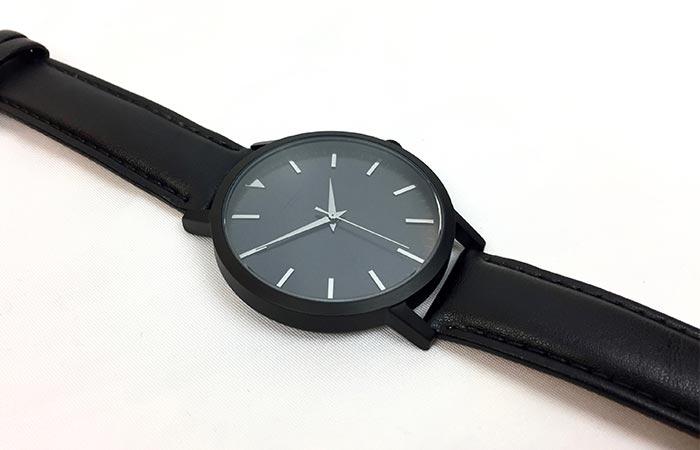 Black Sleek Supply watch