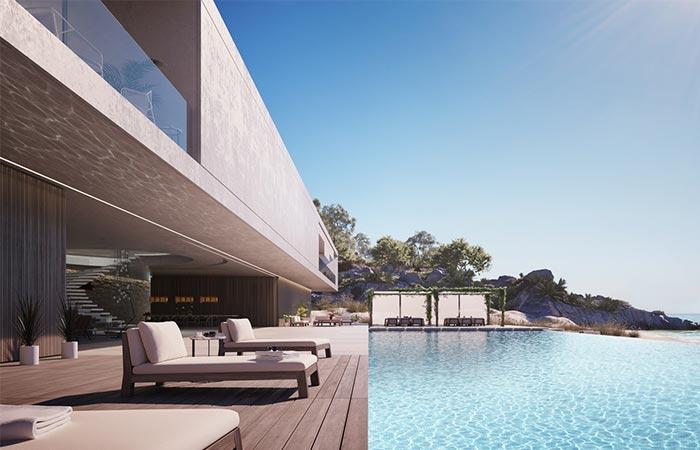 Superhouse infinity pool