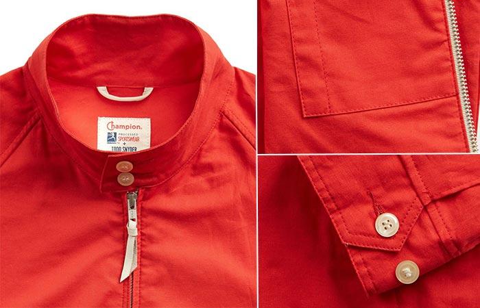 Three images of Harrington jacket