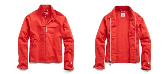 Todd Snyder & Champion | The Harrington Jacket In Red