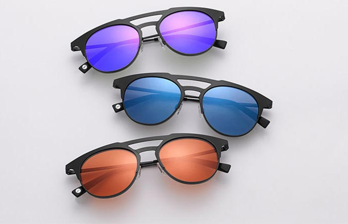three colors of Warby Parker Bennett