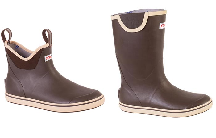 two models of XTRATUF Boots