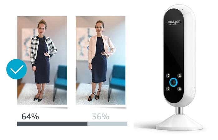 choosing outfits with Amazon Echo Look