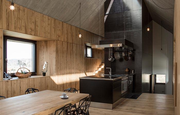Chimney House kitchen
