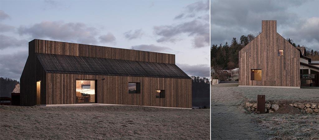 Chimney House In Slovenia