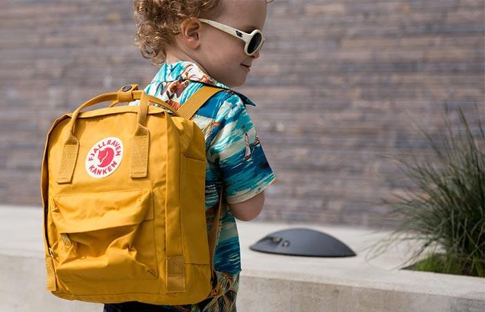 Fjällräven pack for kids