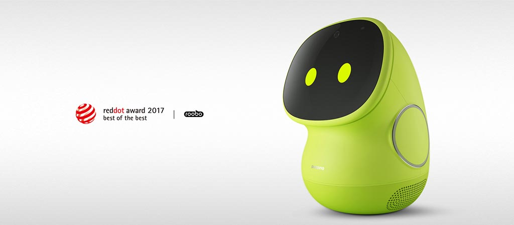ROOBO BeanQ Robot Wins Red Dot Award 2017